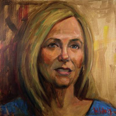 Painting - 063 Karen by Pamela Wilde