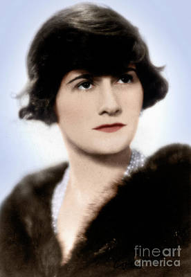 Photograph - Gabrielle 'coco' Chanel by Granger