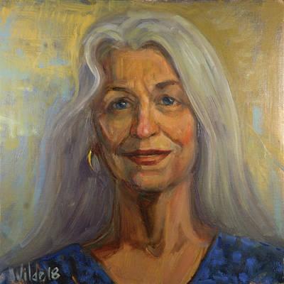 Painting - 065 Carol by Pamela Wilde