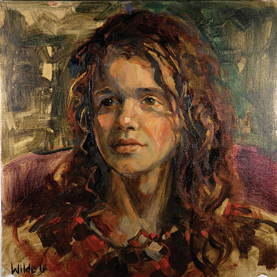 Painting - 067 Sari by Pamela Wilde