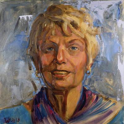Painting - 070 Carol by Pamela Wilde