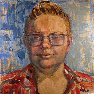 Painting - 074 Mycki by Pamela Wilde