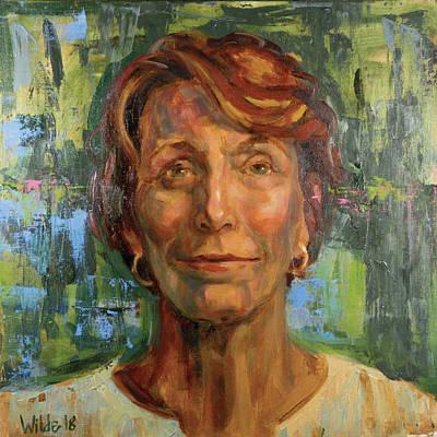 Painting - 077 Carol by Pamela Wilde
