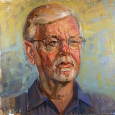 Painting - 078 John by Pamela Wilde