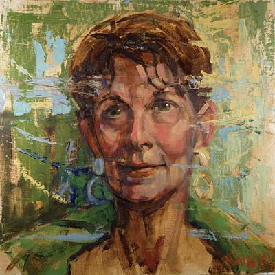 Painting - 086 Elaine by Pamela Wilde