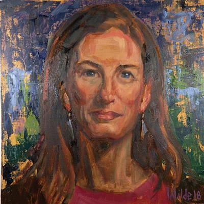 Painting - 091 Nettie by Pamela Wilde