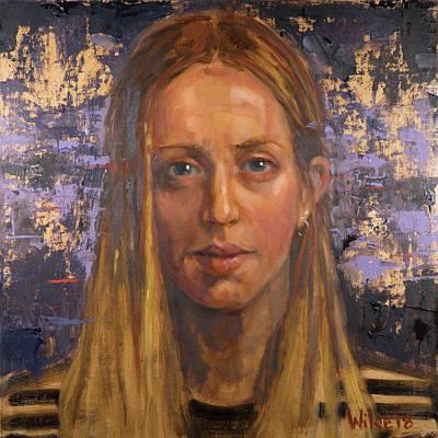Painting - 094 Isobel by Pamela Wilde