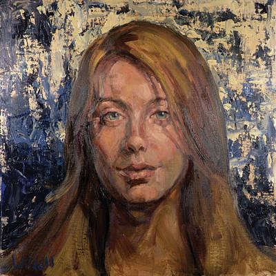 Painting - 098 Alexandra by Pamela Wilde