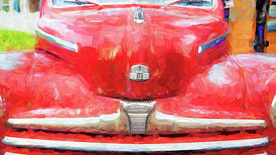 Photograph - 1947 Ford Super Deluxe Coupe 006 by Rich Franco