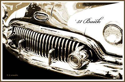 Photograph - 1951 Buick Super, Digital Art by A Gurmankin