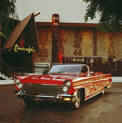 Photograph - 1960 Lincoln Continental Mark V by Car Culture
