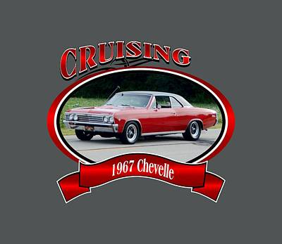 Photograph - 1967 Chevelle Gouza by Mobile Event Photo Car Show Photography