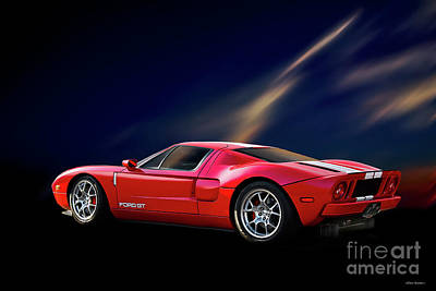 Antlers - 2007 Ford GT by Dave Koontz