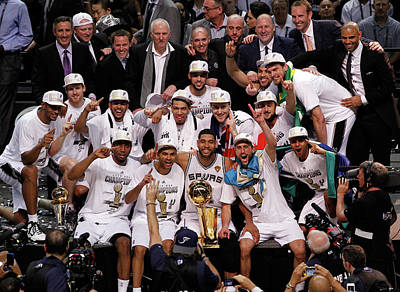 Photograph - 2014 Nba Finals - Game Five by Chris Covatta