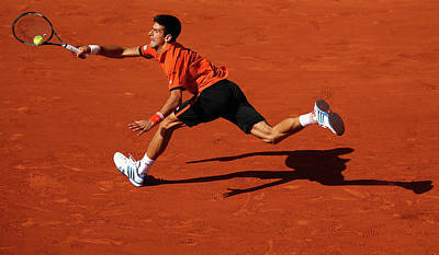 Photograph - 2015 French Open - Day Eleven by Clive Brunskill