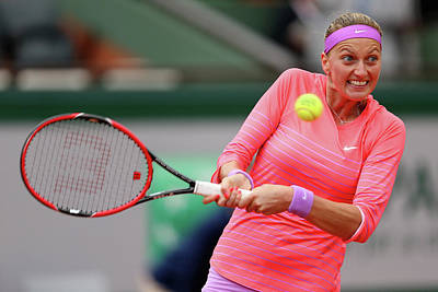 Photograph - 2015 French Open - Day Three by Clive Brunskill