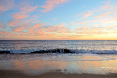 Photograph - 1/6/19 Obx Sunrise by Barbara Ann Bell