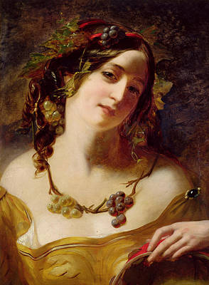 Painting - A Bacchante by William Etty