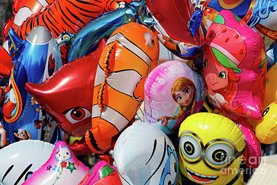Photograph - A Bunch Of Balloons For Kids II by George Atsametakis