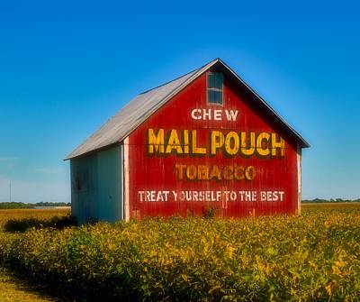 Mail Pouch Photograph - A Piece Of Americana by Mountain Dreams