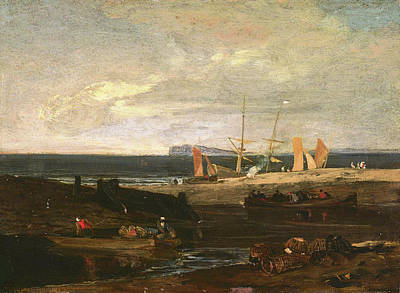 Painting - A Scene On The English Coast by Joseph Mallord William Turner