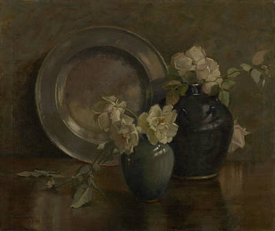 Painting - A Study In Greys by Mary Hiester Reid