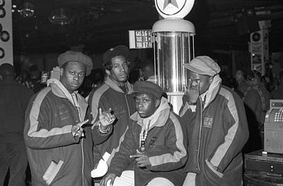 Photograph - A Tribe Called Quest by Al Pereira