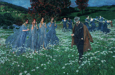 Lenz Wall Art - Painting - A World by Maximilian Lenz