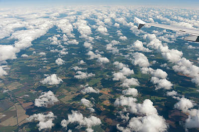 Landscape Photograph - Above The Clouds by Rotofrank