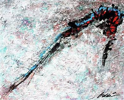 Painting - Abstract 201104 by Rick Baldwin
