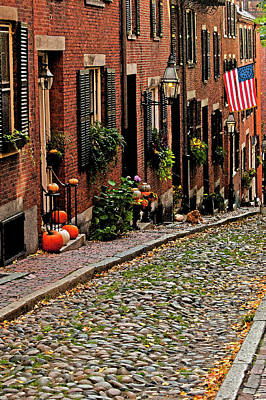 Photograph - Acorn Street  by Paul Mangold