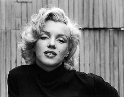 Photograph - Actress Marilyn Monroe by Alfred Eisenstaedt