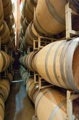 Photograph - Aging Wine by Mark Duehmig