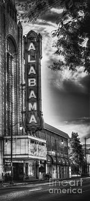 Photograph - Alabama Theatre by Ken Johnson