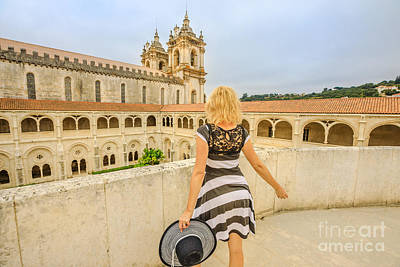 Photograph - Alcobaca Monastery Tourism by Benny Marty