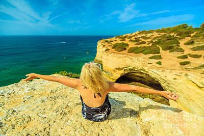 Photograph - Algarve Coast Portugal by Benny Marty