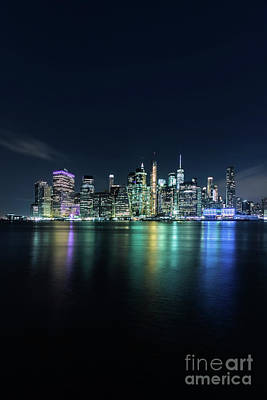 City Scenes Royalty-Free and Rights-Managed Images - All Night Long by Evelina Kremsdorf