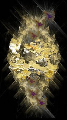 Mixed Media - All That Glitters Is Gold by Marvin Blaine