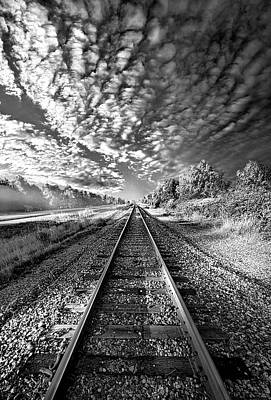 Art Print featuring the photograph All The Way Home by Phil Koch