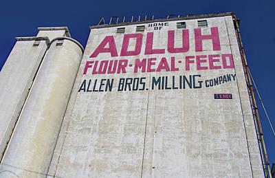 Photograph - Allen Bros. Milling by Joseph C Hinson Photography