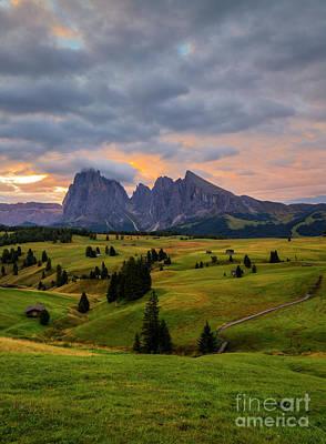Wall Art - Photograph - Alp Di Suisi. by Sebastien Coell