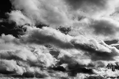Typography Tees - Altocumulus Undulatus Clouds by Jim Corwin