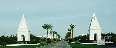 Alys Beach Entrance Art Print