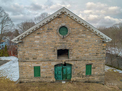 Photograph - American Thread Stables by Michael Hughes