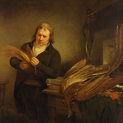 Painting - An Ornithologist by Ramsay Richard Reinagle