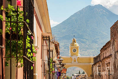 Landmarks Royalty Free Images - Antigua Guatemala Royalty-Free Image by Tim Hester