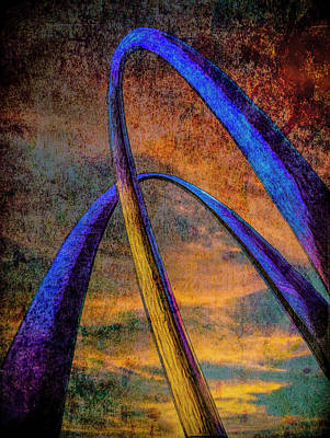 Photograph - Arch Rivals  by Paul Wear