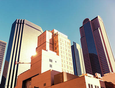 Financial District Photograph - Architecture, Dallas Financial District by Moreiso