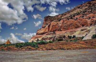 Photograph - Arizona Desert Landscape by Anthony Dezenzio