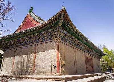 Photograph - Art Hall Dafo Temple Zhangye Gansu China by Adam Rainoff